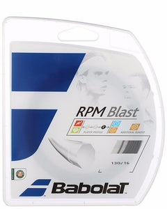 Stringing  with Babolat RPM Blast 16 String