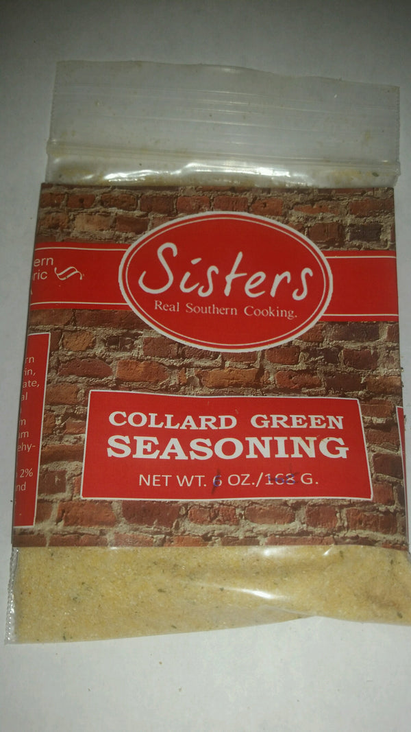 Sisters Collard Greens Seasoning