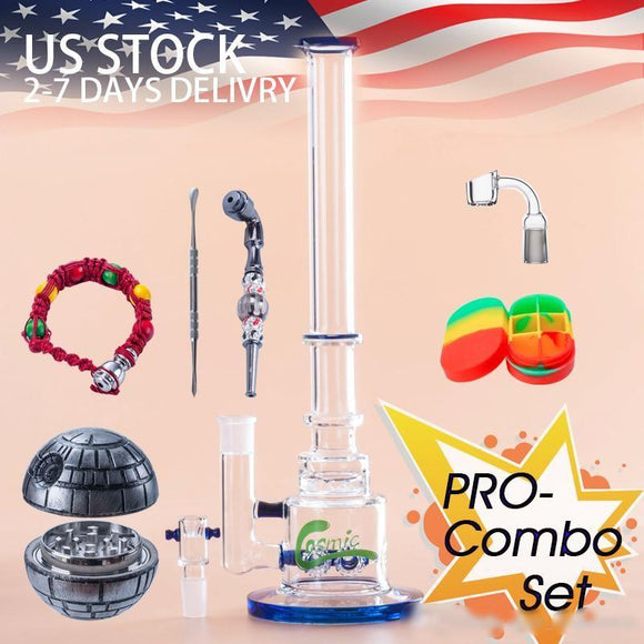 The USA BONG KIT - with gear diffuser