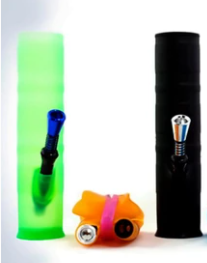 Collapsible Silicone Bong