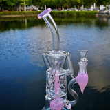 "10"" Small Girly Recycler bong"