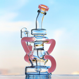Pink Cute Girly Recycler Bong