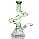 Tall Squiggly Bong with Diffuser