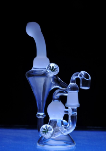 Ultra Clear Recycler Bong