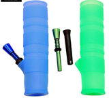 Unbreakable bongs in blue and green