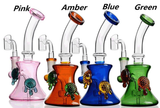 Cute Multi Color Bubblers - Rigs- For Girls Or Guys