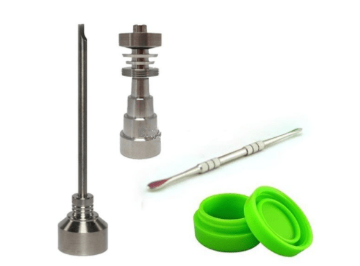 Adjustable Titanium Nail - Dab Conversion Kit