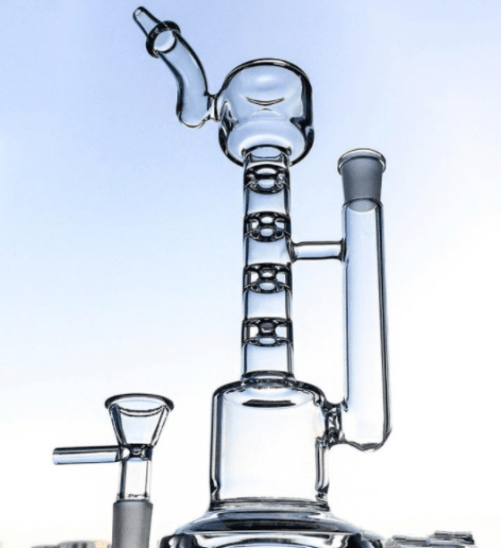 percolator - 10 inch percolator lamp bong