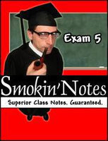 APK2100 Exam 5 Smokin'Notes