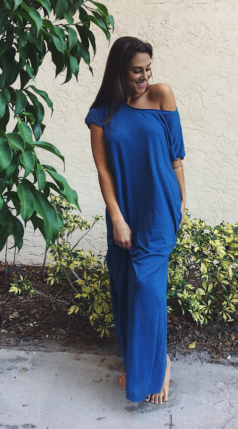 Heather Off-Shoulder Maxi