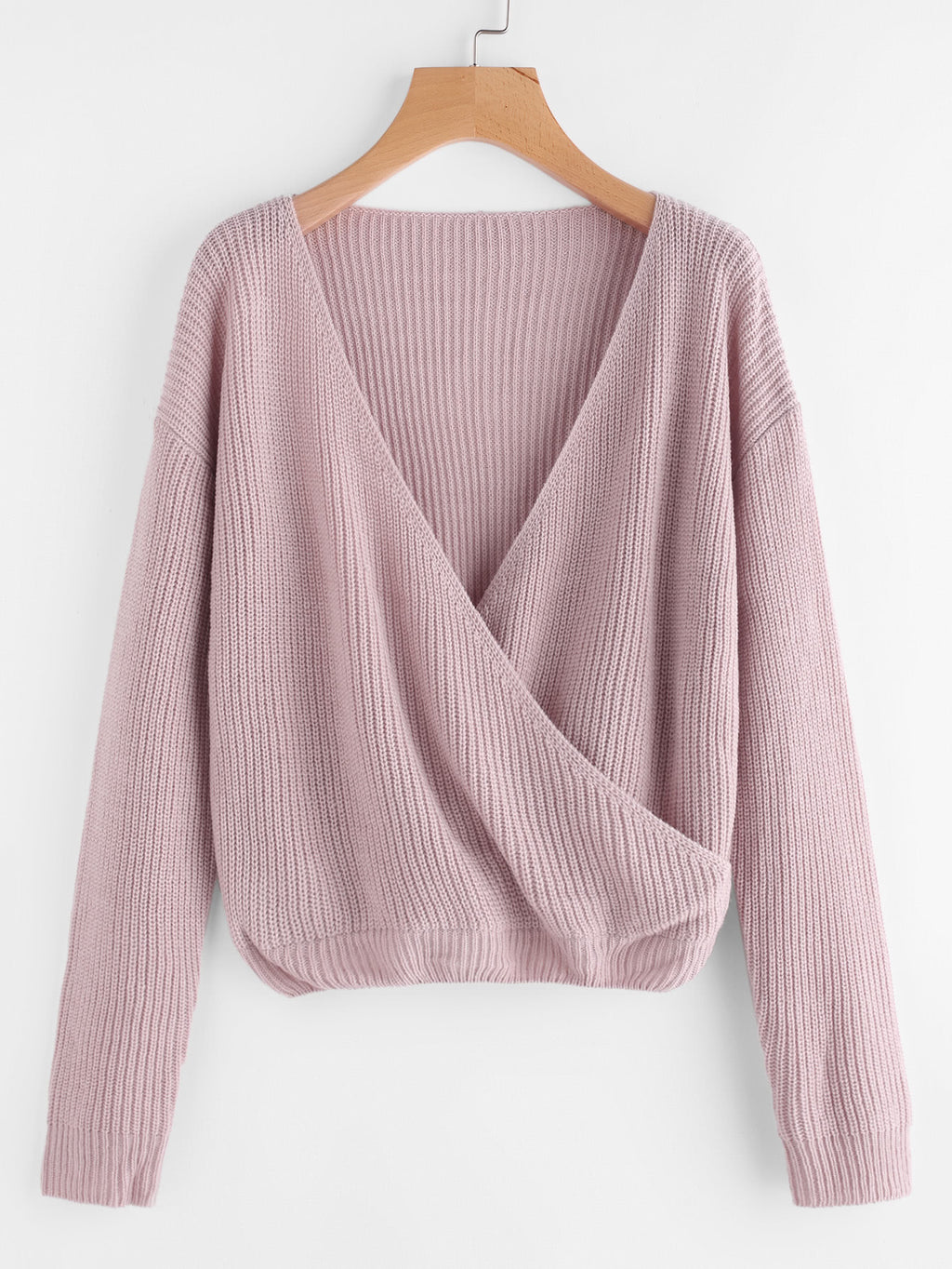 Surplice Front Jumper