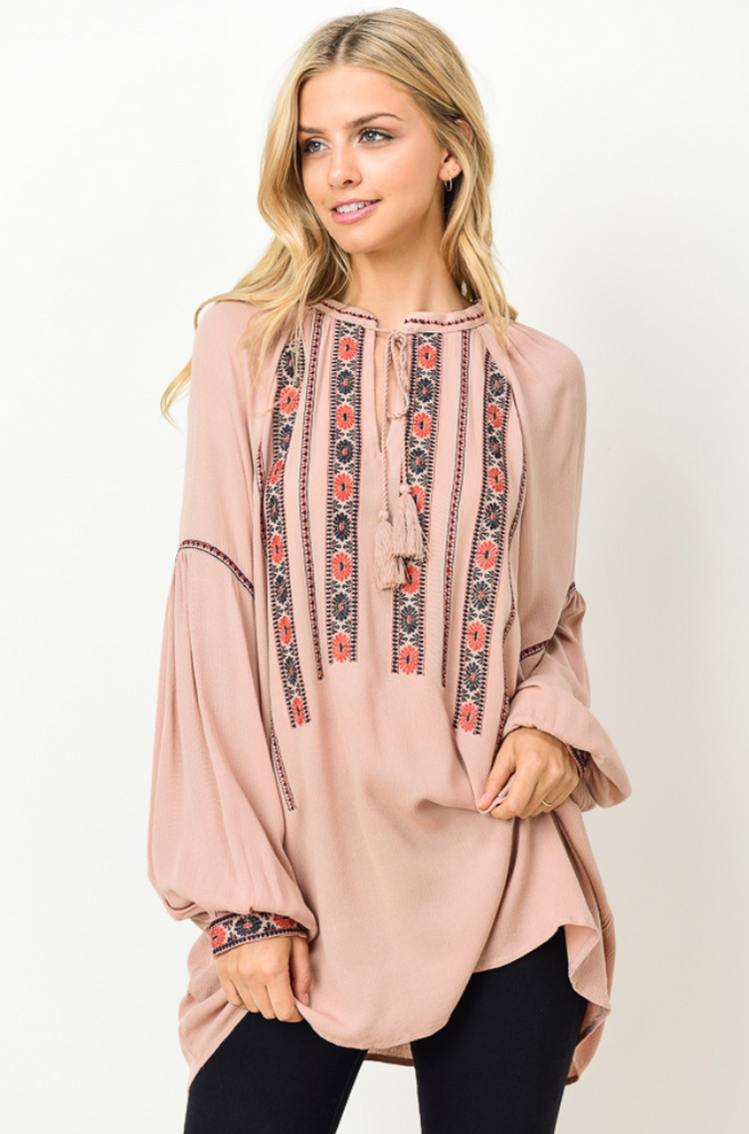 Rosalyn Embroidered Blouse