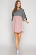 Maggie French Terry Dress
