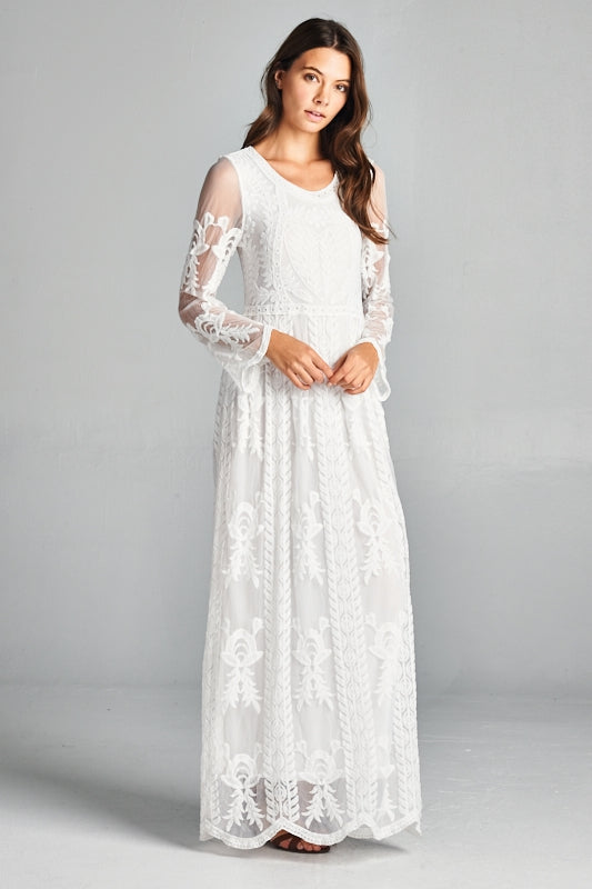 173f47914a6 Valentina Lace Maxi l   Michigan   Madison