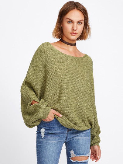 Erika Over-Sized Knit Sweater