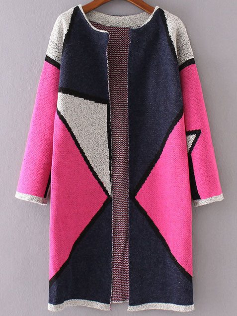 Kerri Color-Block Cardigan