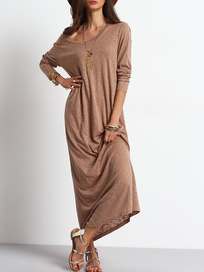 Madi Scoop Maxi Dress