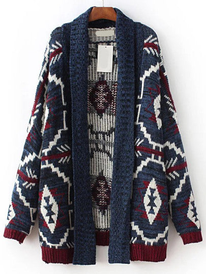 Mia Tribal Sweater