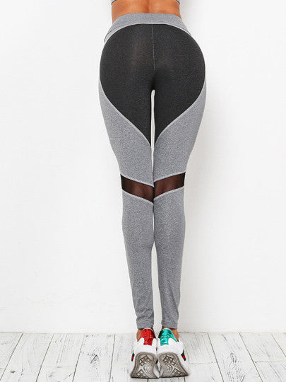 Whistle While You Work Out Colorblock Leggings