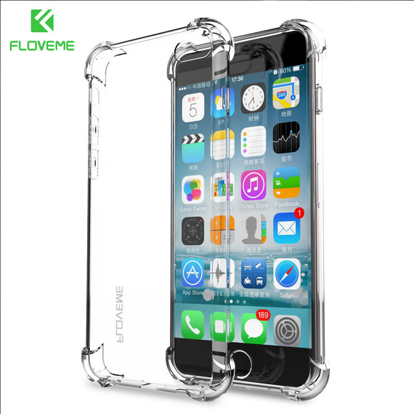 7c8453d701 FLOVEME For iPhone 6 6s Plus 7 Case For iPhone 7 7 Plus Coque Clear Full