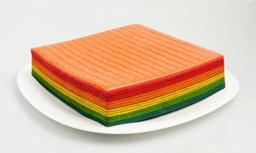 The Master Layer Cake Rainbow