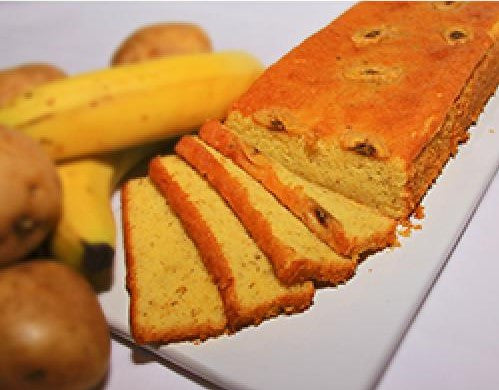 Potato Banana Cake