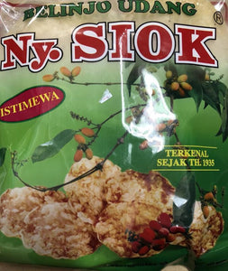 Ny. Siok Emping Belinjo Udang / Prawn Emping Sweet