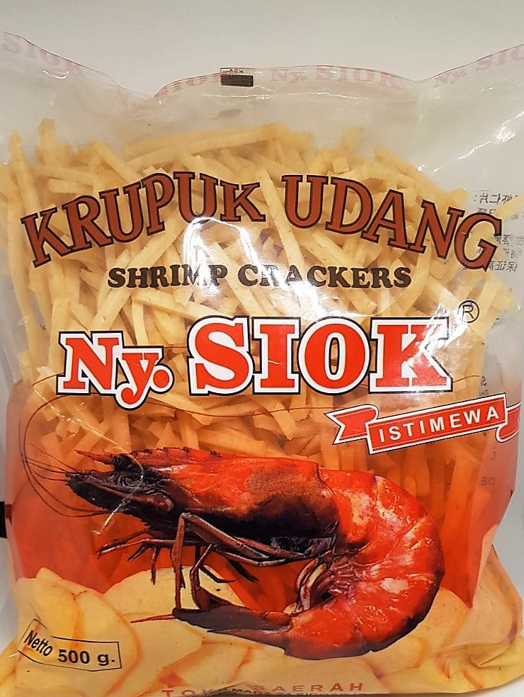 Ny. Siok Shrimp Crackers French Fries Istimewa