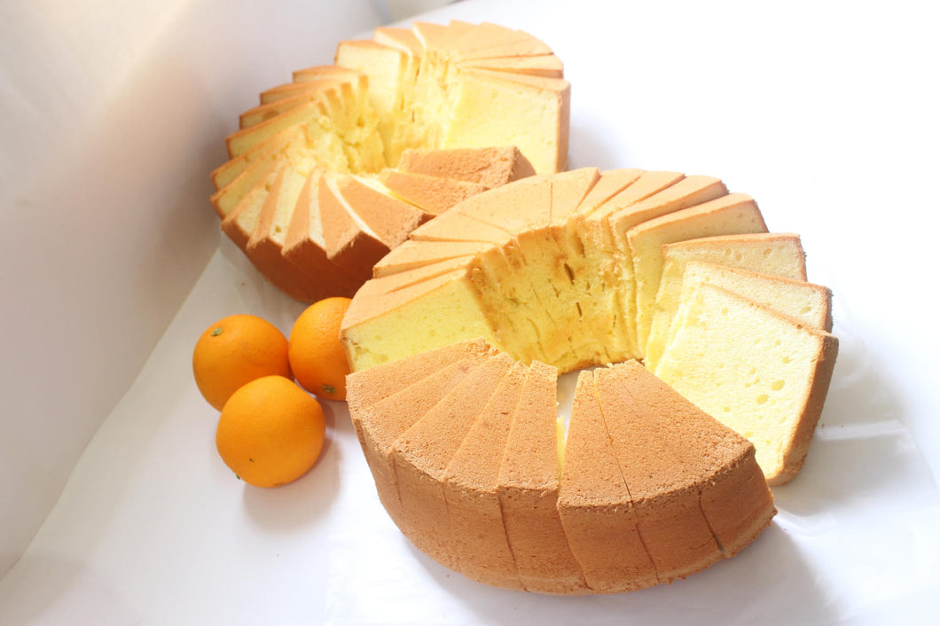 Orange chiffon cake Batam