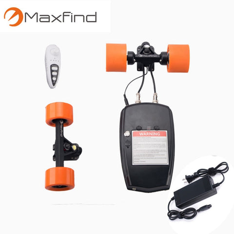 Maxfind Smart Four-wheel electric scooter Electric Longboard Skateboard  Conversion Kit Rear Truck With two Engines-inwheel Drive