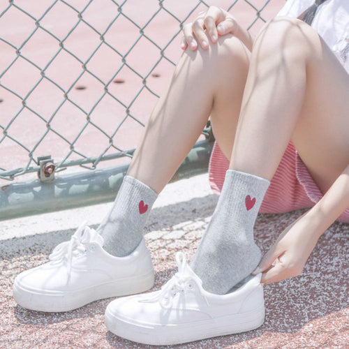 Undertale Heart Socks