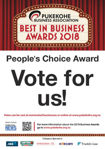 Best in Business. Vote for Us!