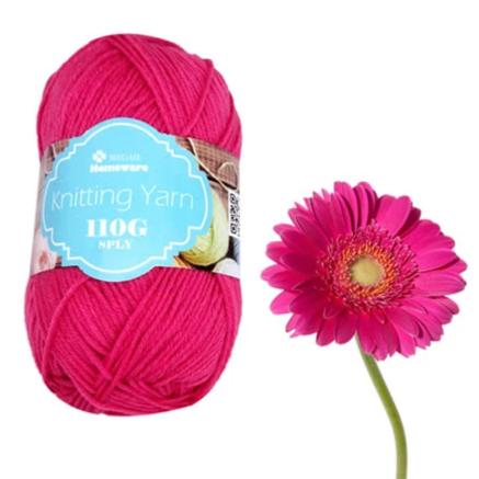 Knitting Yarn 110g - Hot Pink