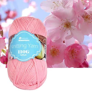 Knitting Yarn 110g - Baby Pink