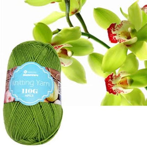 Knitting Yarn 110g - Light Green