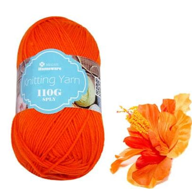 Knitting Yarn 110g - Orange