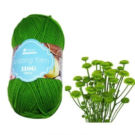 Knitting Yarn 110g - Green