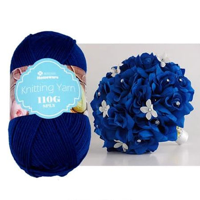 Knitting Yarn 110g - Royal Blue