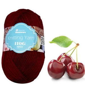 Knitting Yarn 110g - Cherry Red