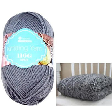 Knitting Yarn 110g - Grey