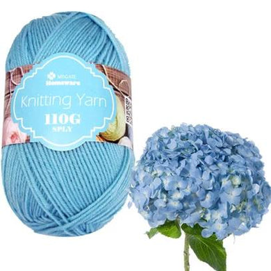 Knitting Yarn 110g - Sky Blue