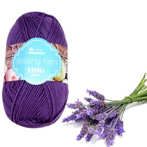 Knitting Yarn 110g - Lavender