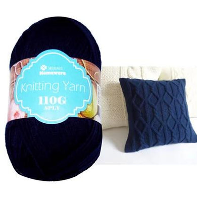 Knitting Yarn 110g - Navy Blue