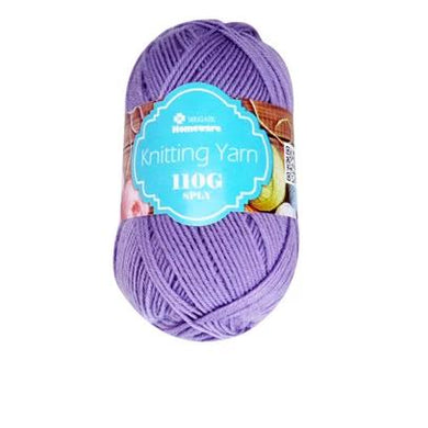 Knitting Yarn 110g - Light Purple