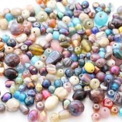 100g Small Lustre AB Bead Mix