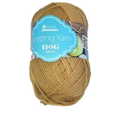 Knitting Yarn 110g - Gold