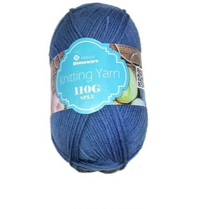 Knitting Yarn 110g - Blue