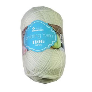 Knitting Yarn 110g - Cream