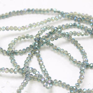 Pretty Crystal Rondelle Beads