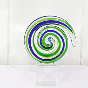 Round Koru Glass Ornament